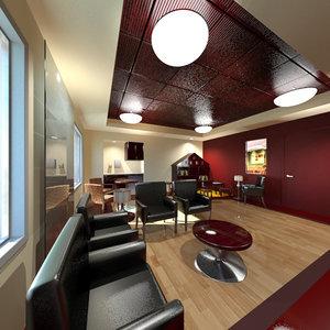3d doctors waiting room