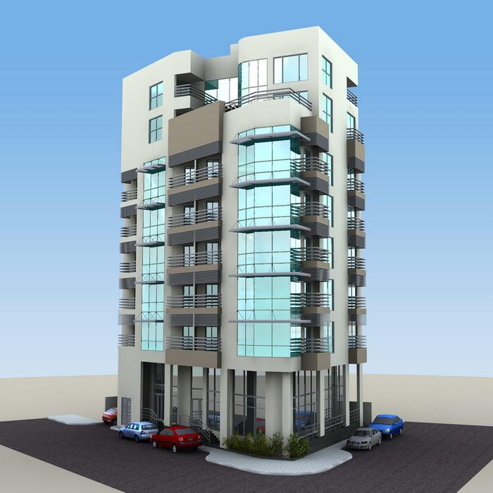 modern apartment c4d