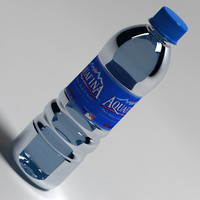 3ds max bottle water