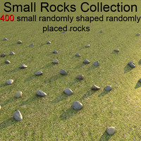 3ds small rocks