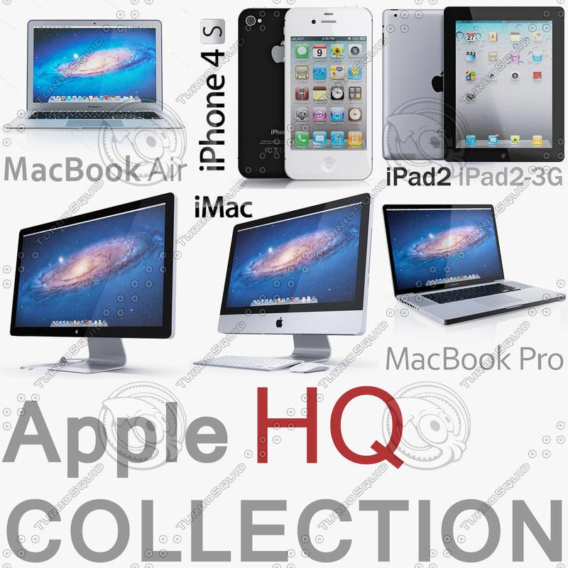 3d model apple electronics 2011 2