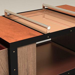 secretair furniture 3d model