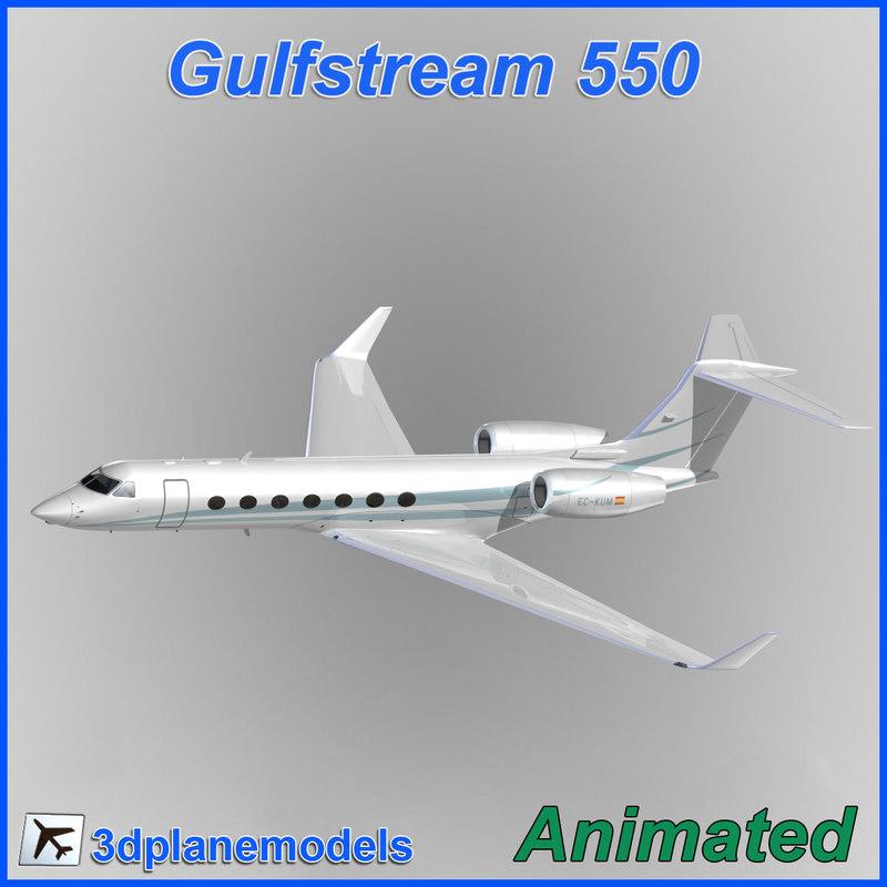 3d gulfstream g550