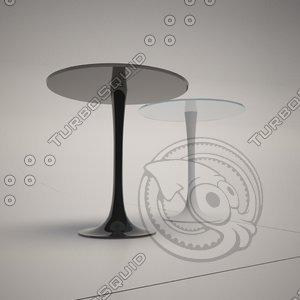 3d model of cattelan italia hugo table