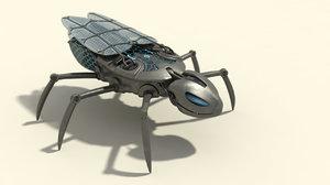3d model mechanic fly