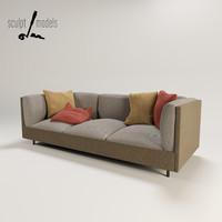 sofa modus 3d model