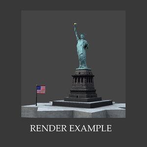 maya statue liberty