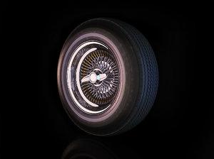 3dsmax lowrider wheels