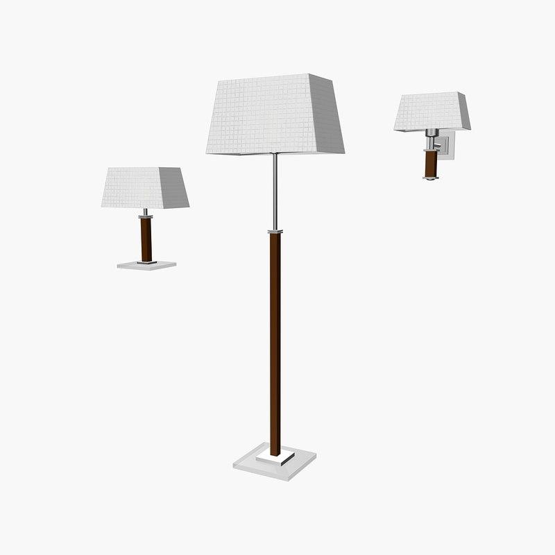3d model la creu lamp
