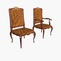 Sedia Chair + Armchair.