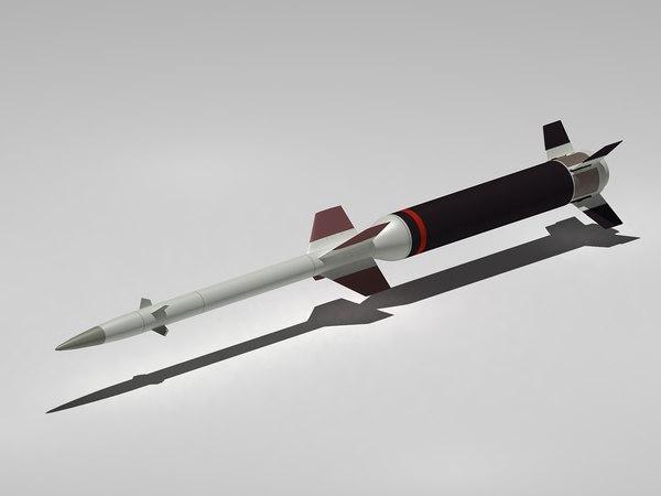 3d 9m311 missile model