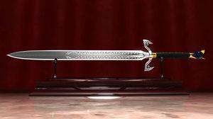 3ds fantasy sword