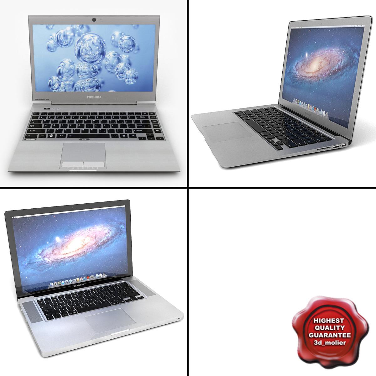 laptops v5 3d 3ds