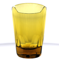 3d model photorealistic mojito glass