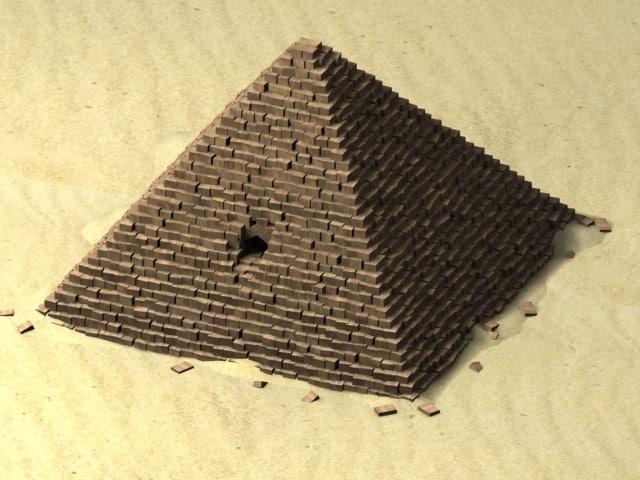 ian pyramid 3d max