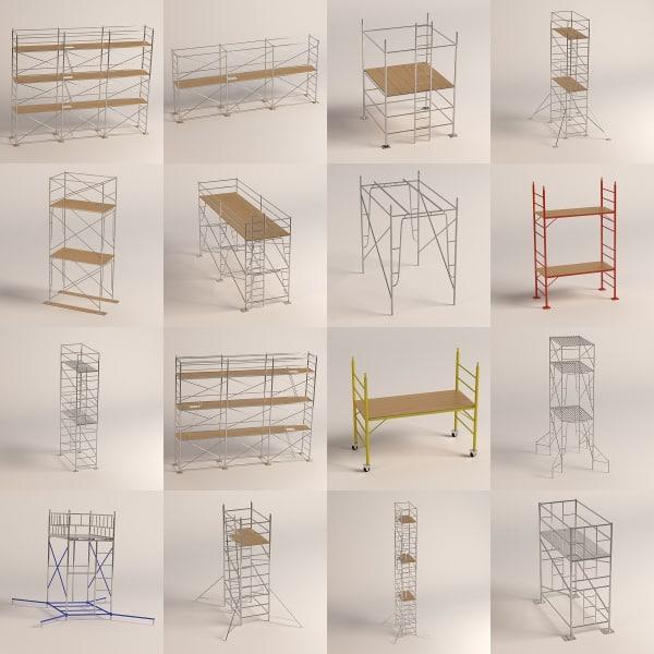 3dsmax 16 scaffoldings