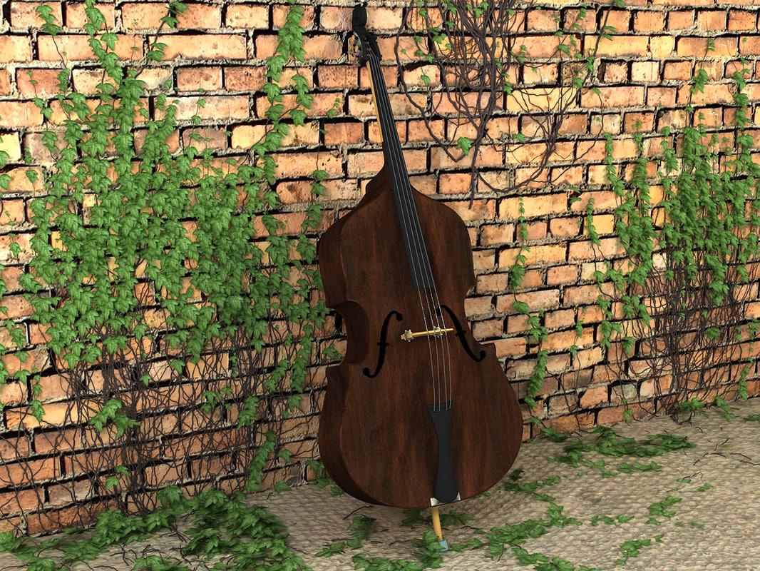 3d double bass