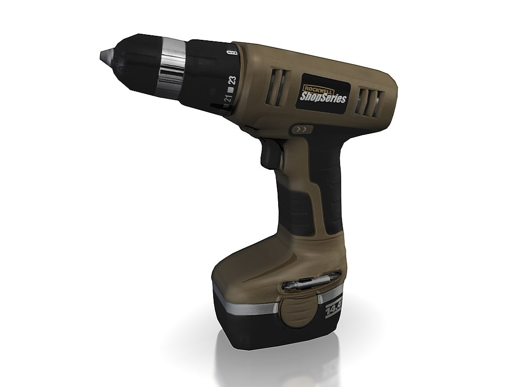 3ds max power drill