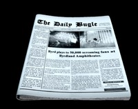 3ds max news newspaper paper