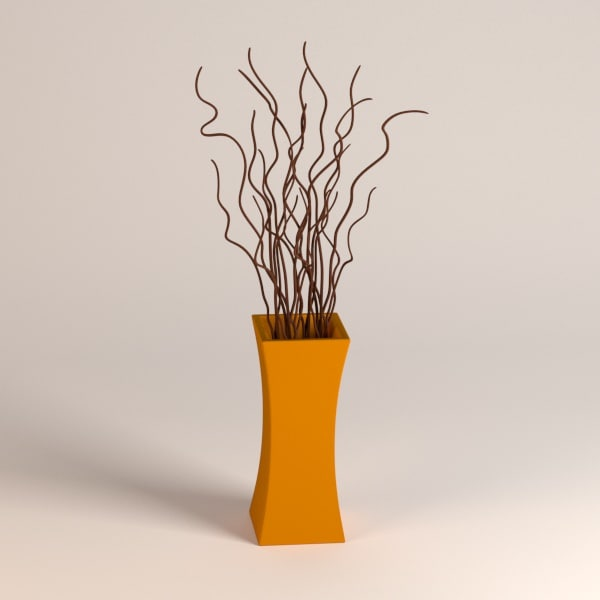 3d model vase decoration