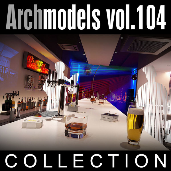 3d max archmodels vol 104 clubs