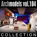 3d max archmodels vol 104 clubs
