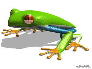 tree frog - 3ds