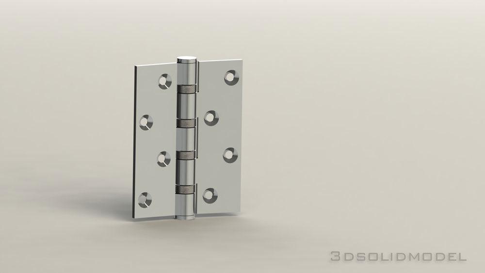 3d model hinge