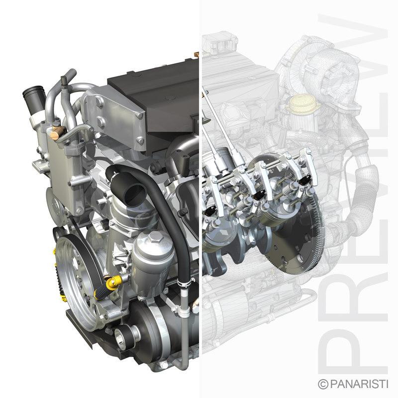 3ds diesel engine parts