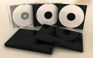 3d model disc cases