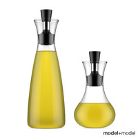 Oil and vinegar carafe