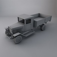 russian military cargo truck 3ds