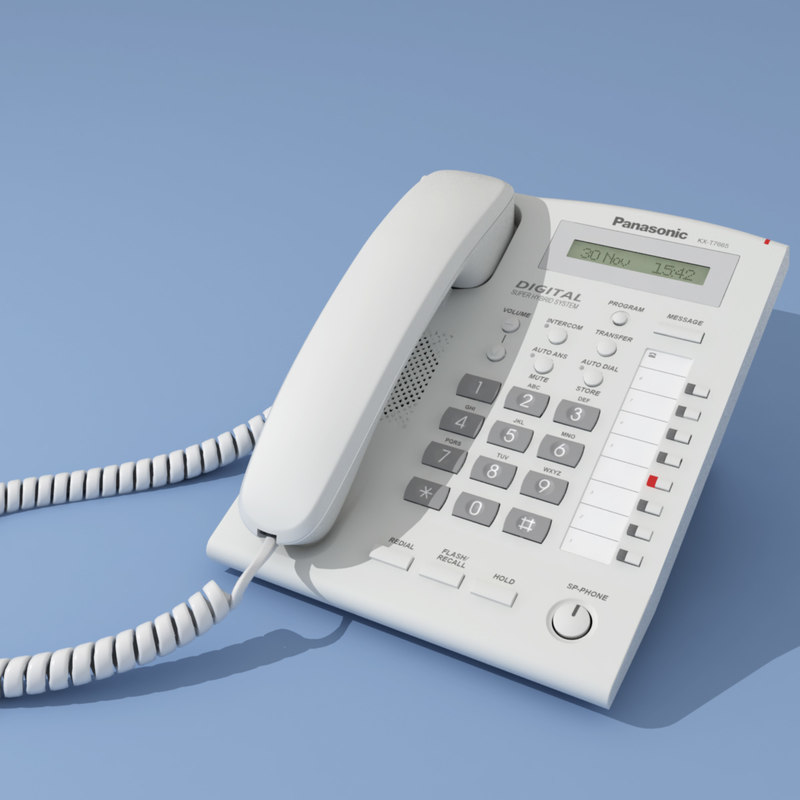 3d model digital phone