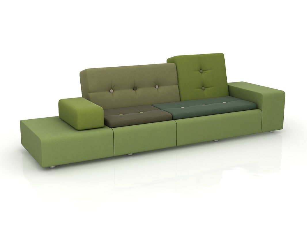 sofa vitra polder max