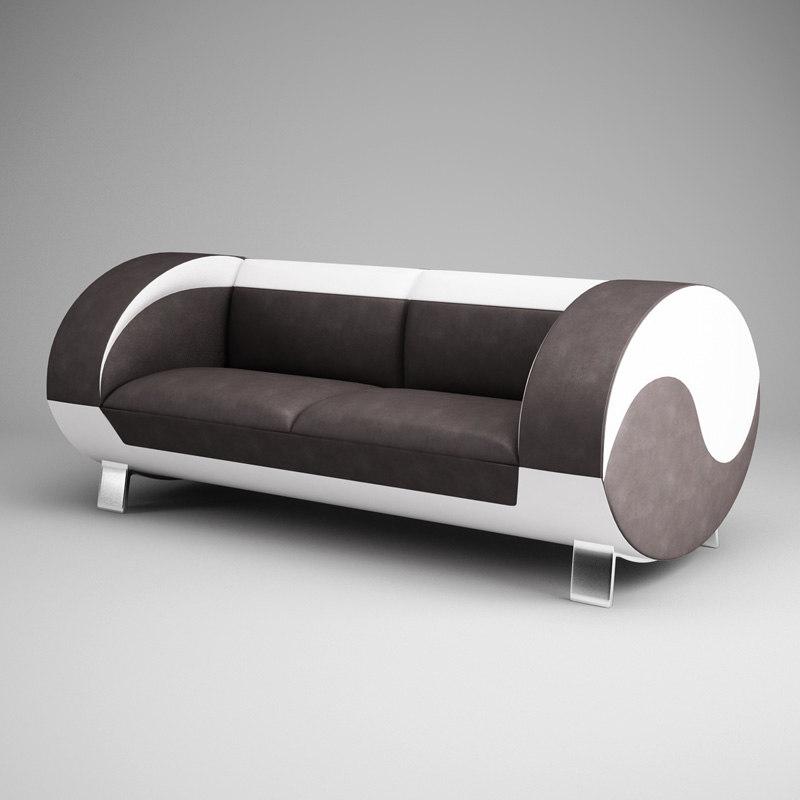 3d model cgaxis modern sofa 16
