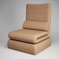 3d cgaxis modern armchair 21 model