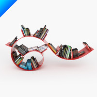 obj bookworm short ron arad
