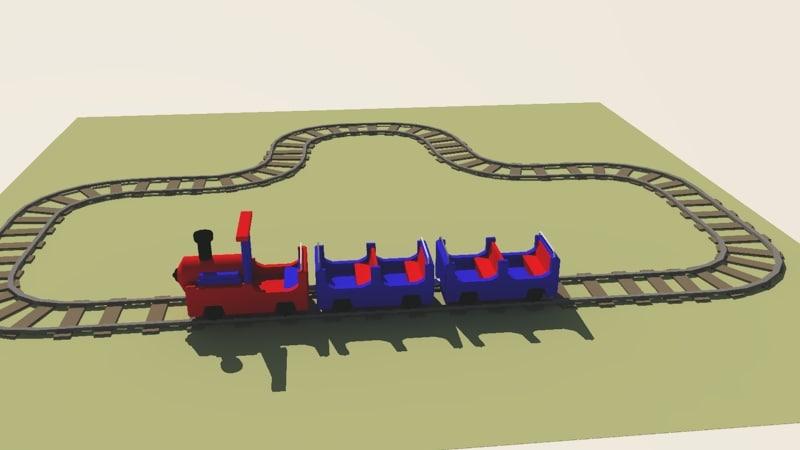 coloured base 3d model