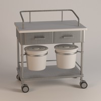 hospital table 3d model