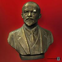 Lenin Portrait 3D Scan