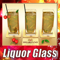 3d max liquor glass