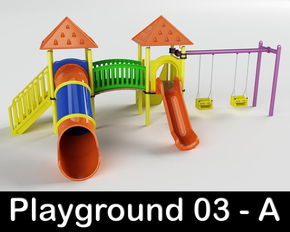 3ds playground play