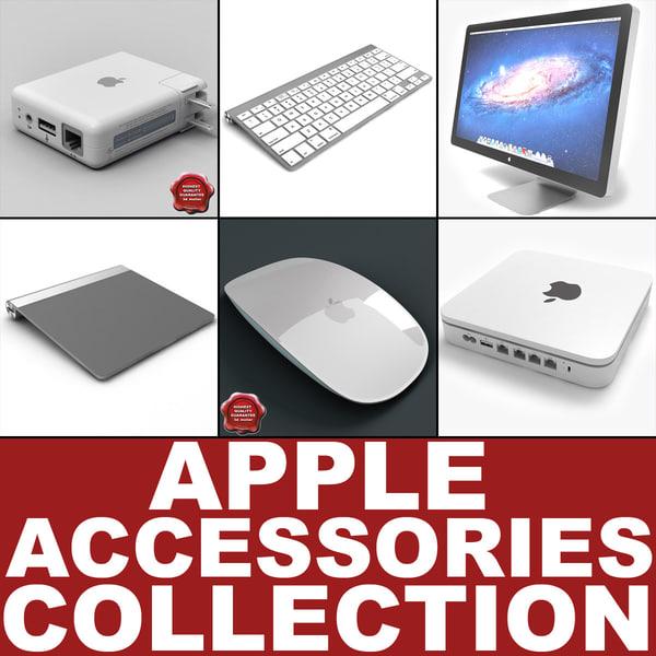 3d apple accessories