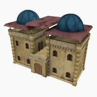 house fantasy 3d model
