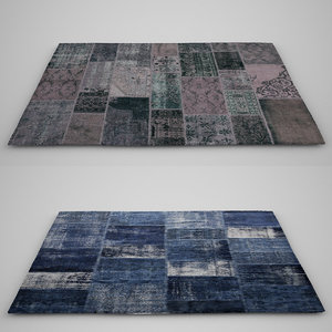 max modern patchwork carpets