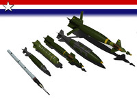 US bomb assortment pack