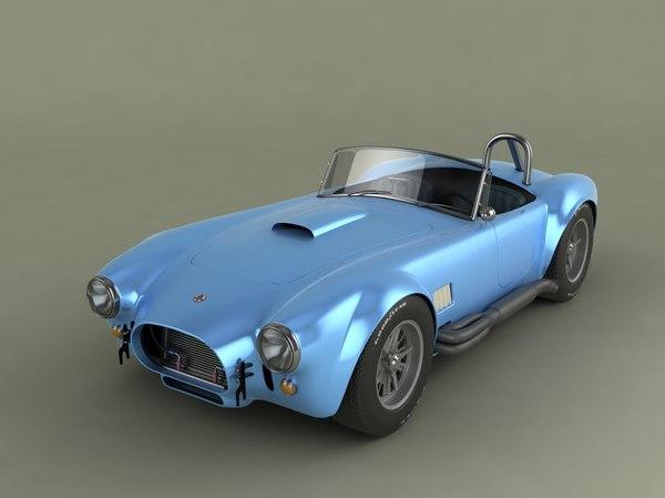 ac cobra 427 3d model