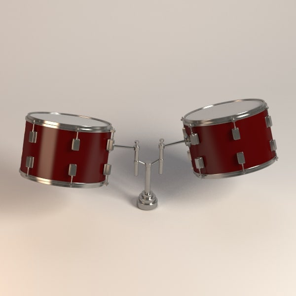 toms drums 3ds