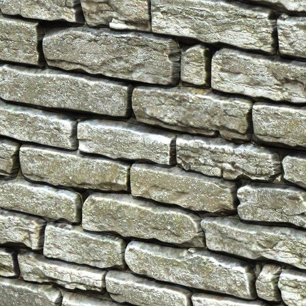 3d model stones 06