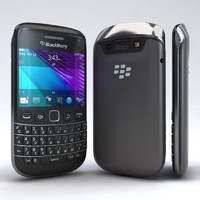 3d model of blackberry bold 9790